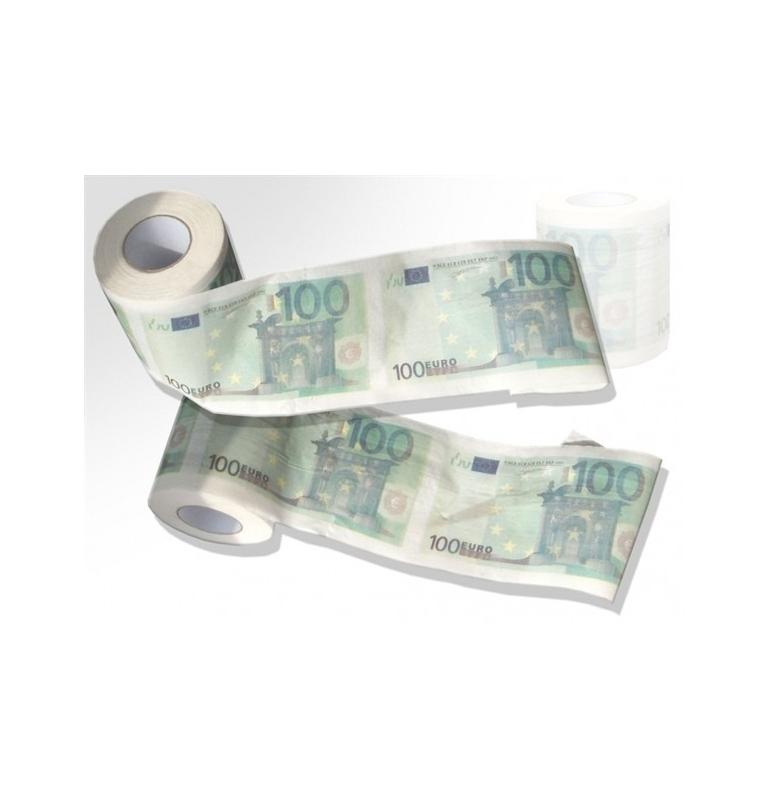 Toaletný papier - 100 dolárovka