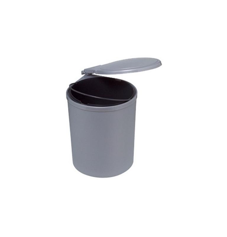 Kôš na odpad AUTOMAT šedý