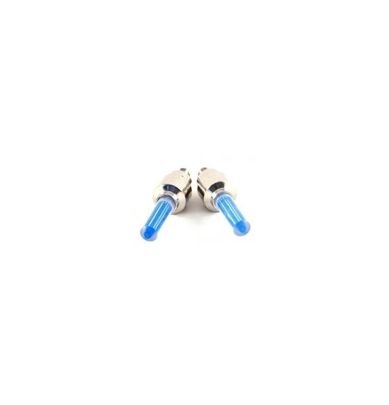 Svietiace ventilky - modré