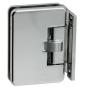 Automatický pružinový pant na skleněné dveře CT - CER401S - OC - Chrom lesklý