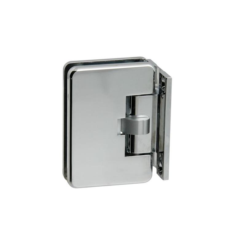 Automatický pružinový pánt na sklenené dvere CT - CER401S - OC - Chróm lesklý