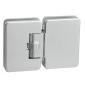 Automatický pružinový pánt na sklenené dvere CT - CER403S - CP - Chróm perla