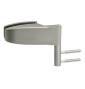 Horizontálny pánt na sklenené dvere CT - CER101C - NP - Nikel perla