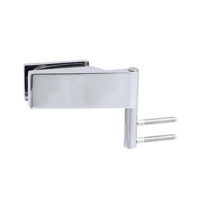 Horizontálny pánt na sklenené dvere CT - CER108C - OC - Chróm lesklý
