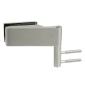 Horizontálny pánt na sklenené dvere CT - CER108C - ONS - Nikel brúsený