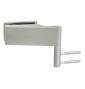 Horizontálny pánt na sklenené dvere CT - CER108C - NP - Nikel perla