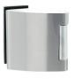 Vertikálny pánt na sklenené dvere SP - 10124 - BN - Brúsená nerez