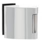 Vertikální pant na skleněné dveře SP - 10124 - LN - Lěštená nerez
