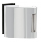 Vertikálny pánt na sklenené dvere SP - 10124 - LN - Leštená nerez