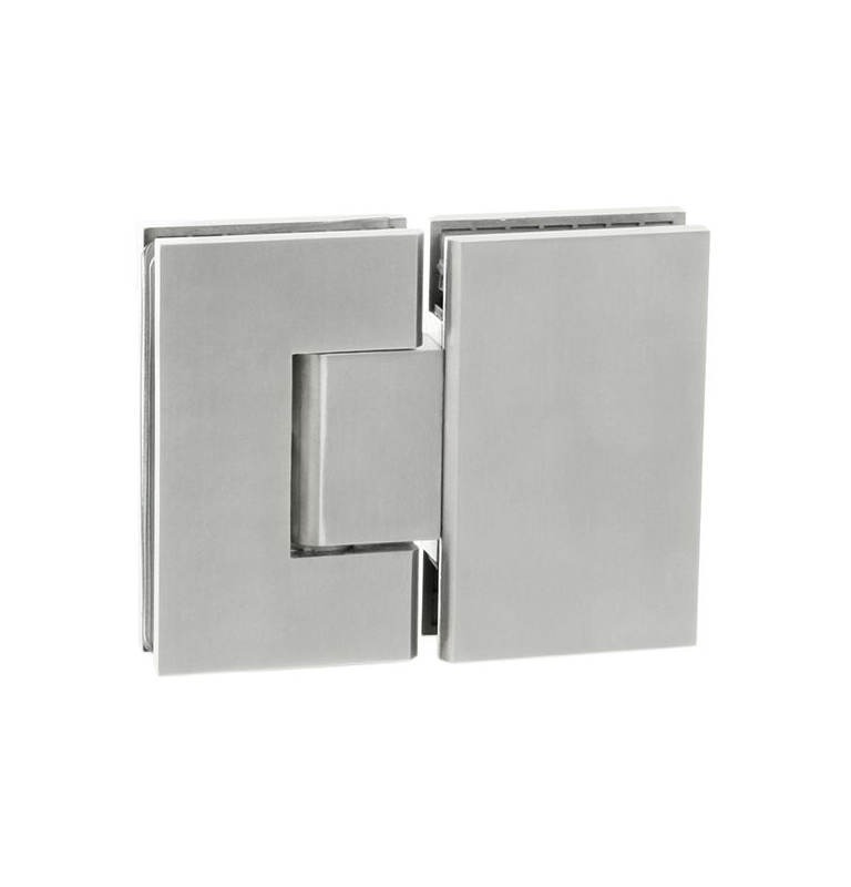 Pružinový pant na skleněné dveře se zastavením JNF - IN.05.308