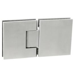 Pružinový pant na skleněné dveře se zastavením JNF - IN.05.304