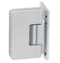 Pružinový pant pro sprchové dveře CT - CER404S - OCS - Chrom broušený