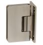 Pružinový pant pro sprchové dveře CT - CER404S - ONS - Nikl broušený