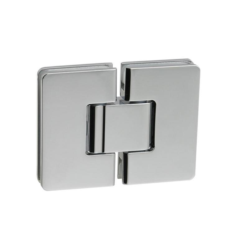 Pružinový pant pro sprchové dveře CT - CER406S - OC - Chrom lesklý
