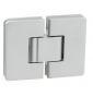 Pružinový pánt pre sprchové dvere CT - CER406S - OCS - Chróm brúsený