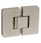 Pružinový pant pro sprchové dveře CT - CER406S - ONS - Nikl broušený