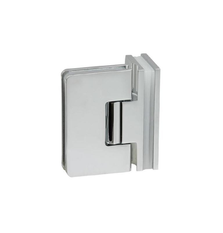Pružinový pant pro sprchové dveře CT - CER407S - OC - Chrom lesklý