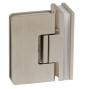 Pružinový pant pro sprchové dveře CT - CER407S - ONS - Nikl broušený