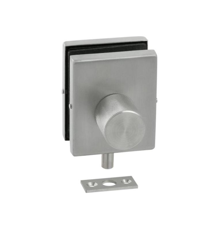 Podlahový zavírací set na skleněné dveře JNF - IN.81.118