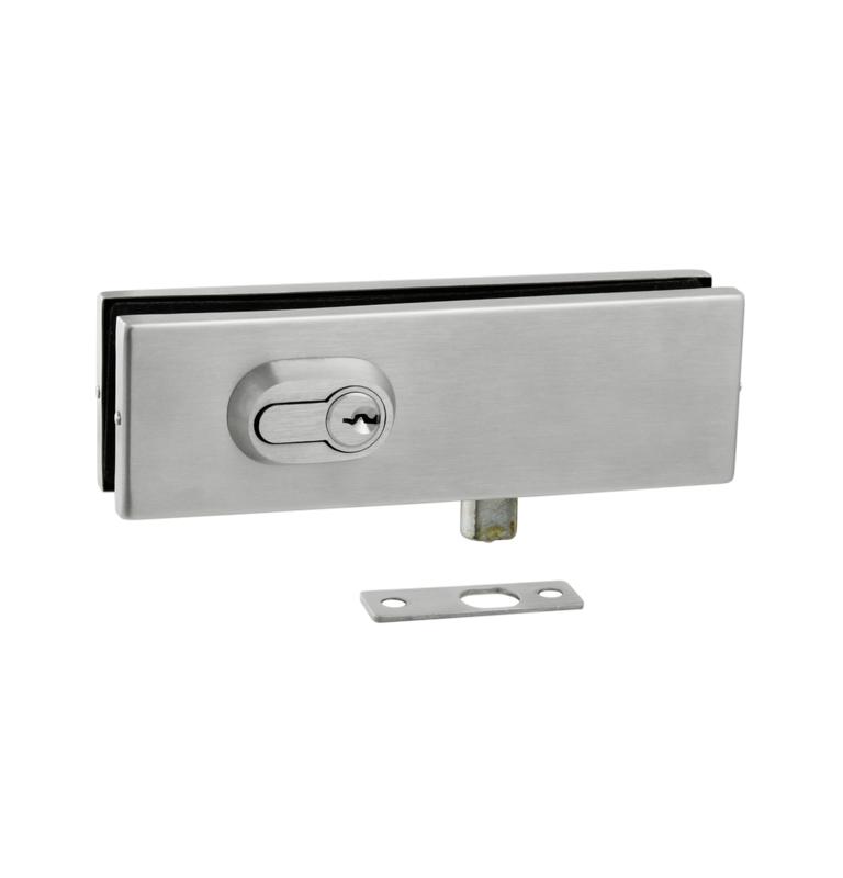 Podlahový zatvárací set na sklenené dvere JNF - IN.81.120