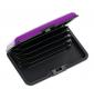 Aluma wallet pouzdro na doklady fialové