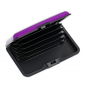 Aluma wallet púzdro na doklady fialové