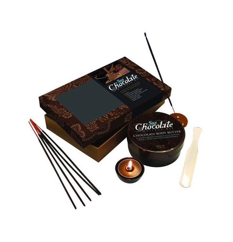 Čokoládový masážní set