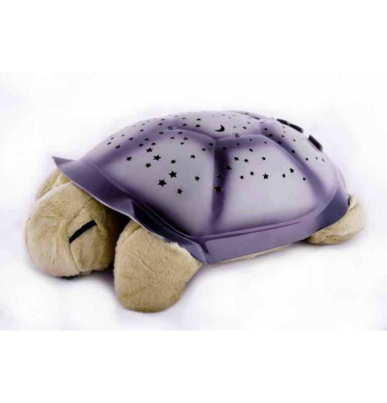 Svietiaca plyšová korytnačka malá zelená
