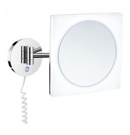 Zrcadlo zvětšovací 5 násobné, s LED podsvícením SMEDBO