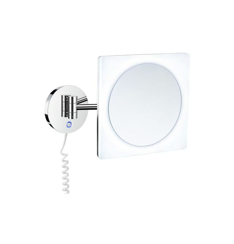 Zrcadlo zvětšovací 5 násobné, s podsvícením SMEDBO