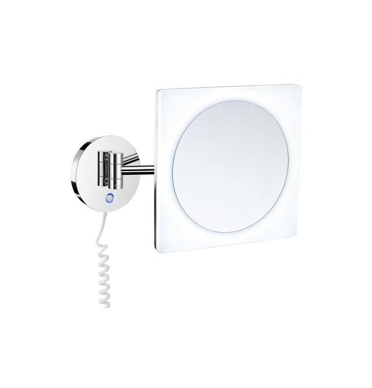 Zrkadlo zväčšovacie 5 násobné, s podsvietením SMEDBO