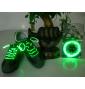 LED svítící tkaničky do bot zelené