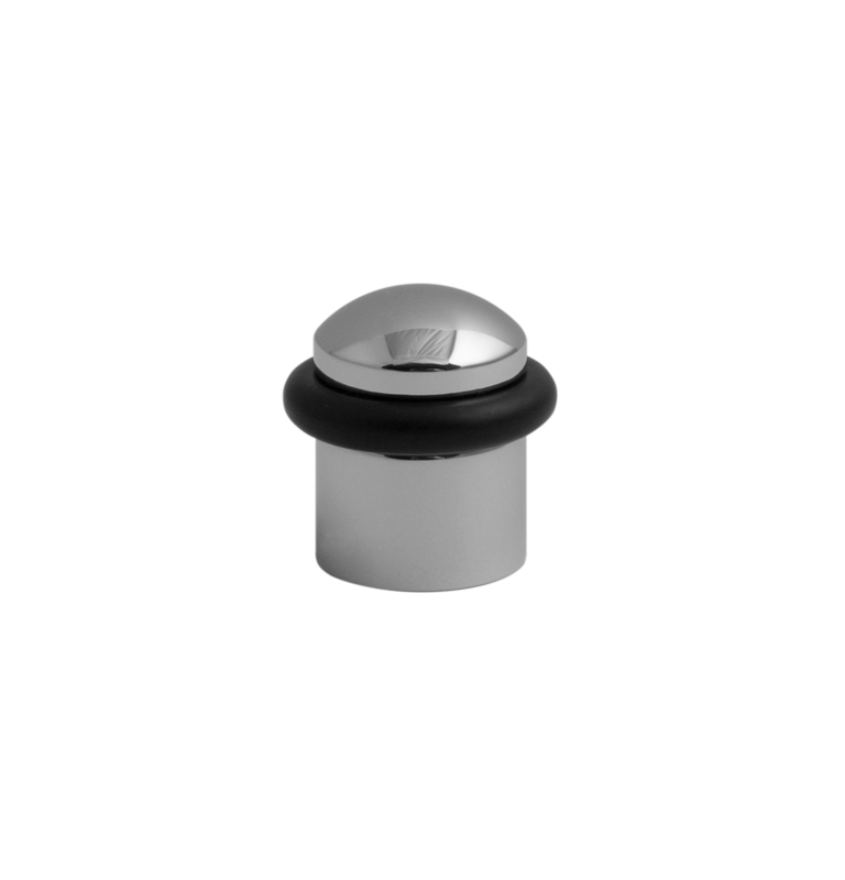 Zarážka dveří oválná TUPAI 115 - OC - Chrom lesklý