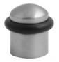 Zarážka dverí oválna TUPAI 115 - OCS - Chróm brúsený