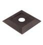 Podstavec pre zarážku dverí TUPAI 2617 - OGS - Bronz česaný mat