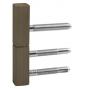 Krytka pant dveří TUPAI 0251 - R351 - OGS - Bronz česaný mat