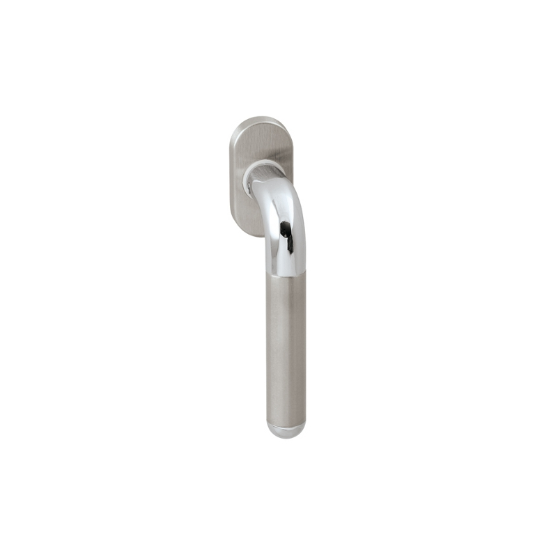 DK - DACAPO - R 791 - OC / BN - Polished chrome / brushed stainless steel