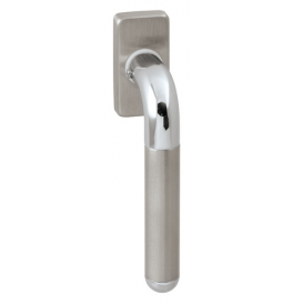 DK - DACAPO - HRN 791Q - BN / OC / BN - Brushed stainless steel / polished chrome / brushed stainless steel