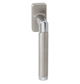 DK - DIAGO - HRN 793Q - BN / OC / BN - Brushed stainless steel / polished chrome / brushed stainless steel