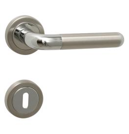 Kľučka TUPAI DACAPO - R 791 - OC / BN - Chróm lesklý / brúsená nerez