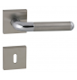 DACAPO - HRN 791Q - BN / OC / BN - Brushed stainless steel / polished chrome / brushed stainless steel