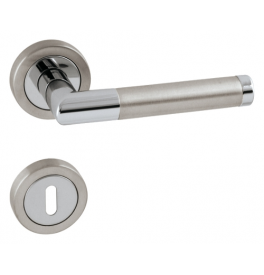 Handle TUPAI PRADO - R 792 - OC / BN - Polished chrome / brushed stainless steel
