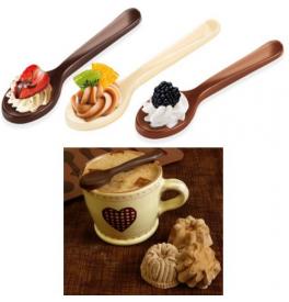 Forma na čokoládové lyžičky