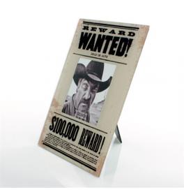 Fotorámček Wanted