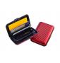Aluma wallet pouzdro na doklady červené