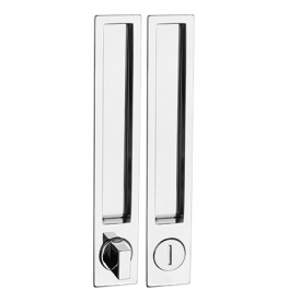 Shell for sliding door PAMAR 1096Z - WC - OC - Polished chrome