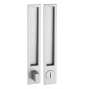 Shell for sliding door PAMAR 1096Z - WC - CP - Chrome pearl
