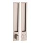 Griffmulde für Schiebetüren PAMAR 1096Z - WC - NP - Nickel perle