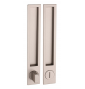 Shell for sliding door PAMAR 1096Z - WC - NP - Nickel pearl