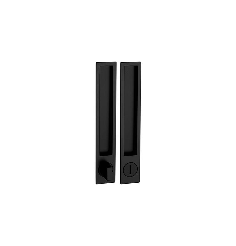 Griffmulde für Schiebetüren PAMAR 1096Z - WC - BLM - Schwarz matt